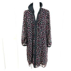 Elle Sparrow Button Down Dress Size XL